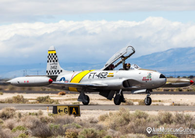 "Greg ""Wired"" Colyer in Lockheed T-33 Shooting Star ""Ace Maker II"""