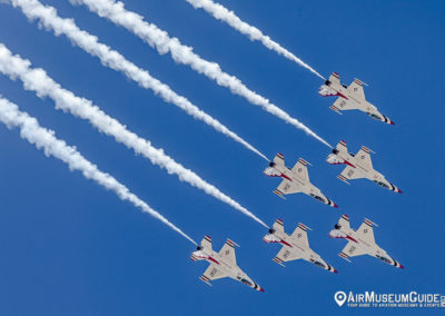 U.S.A.F. Thunderbirds - Los Angeles County Air Show