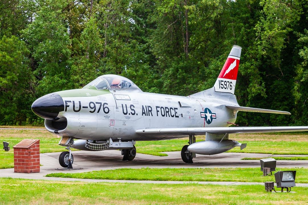North American F-86D Sabre (52-3669)