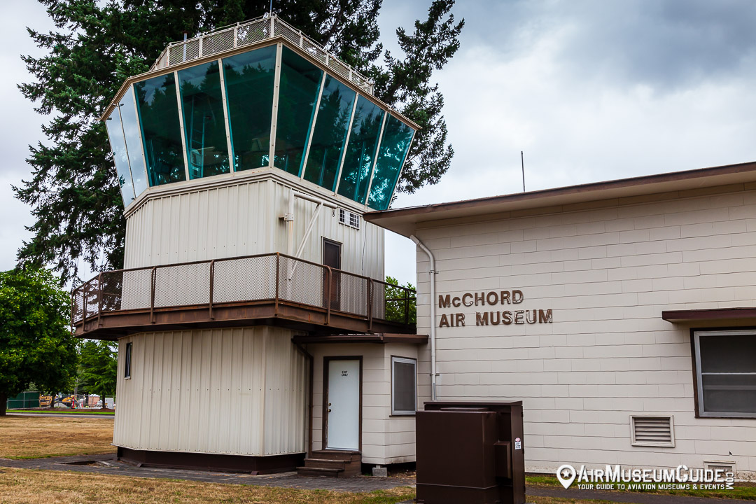 McChord Field historic control tower
