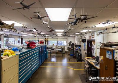 McChord Air Museum Restoration Hangar