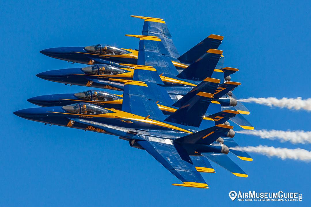 McDonnell Douglas F/A-18C Hornets - Blue Angels