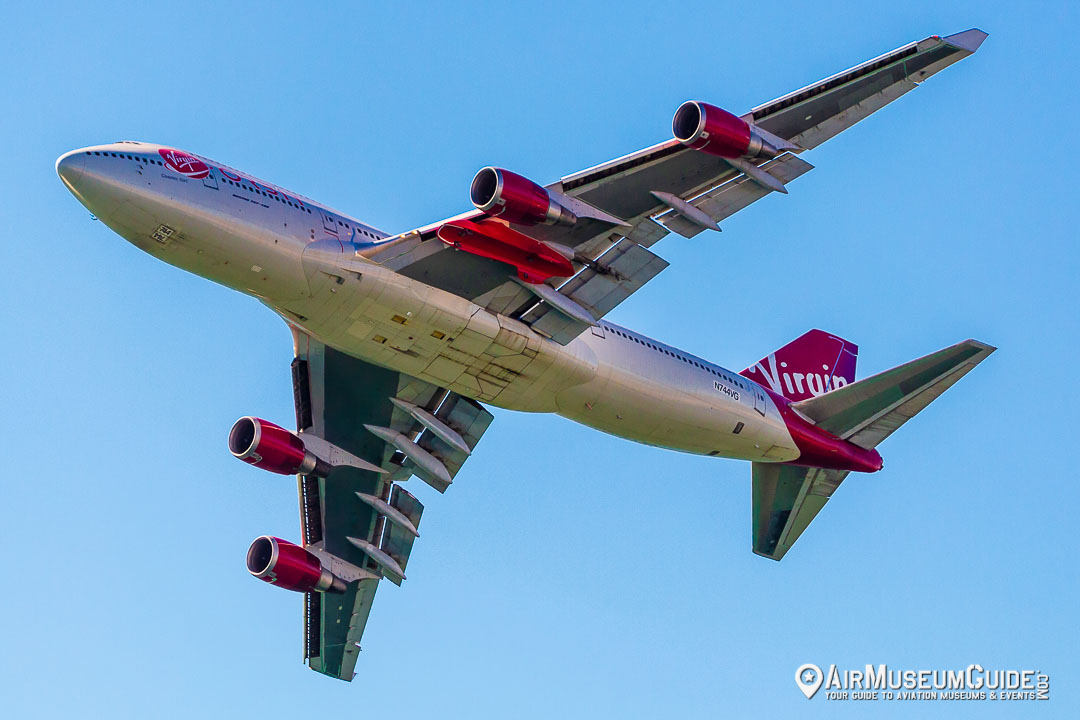 Virgin Orbit Boeing 747-400 Cosmic Girl