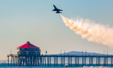 Thunderbirds return to Surf City for The Great Pacific Airshow
