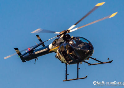 MD-500 helicopter - Huntington Beach Police Department