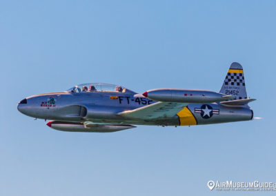 "Greg ""Wired"" Colyer in  Lockheed T-33 Shooting Star (Canadair CT"