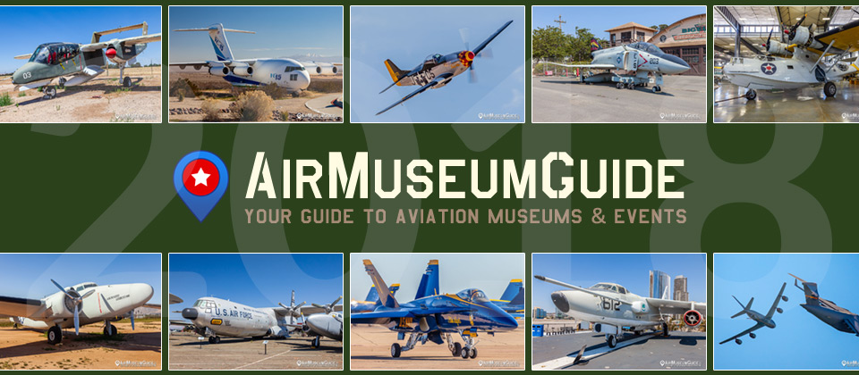 AirMuseumGuide.com - 2018 in review