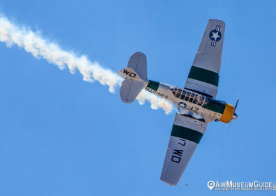 North American AT-6 Texan piloted by John Collver
