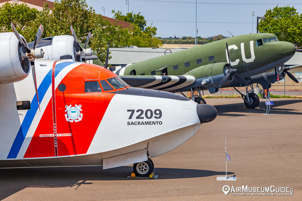 Grumman HU-16E Albatross & Douglas C-53D Skytrooper