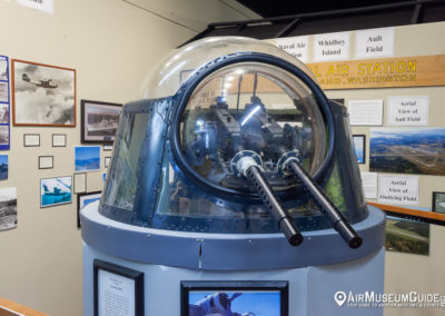 Catalina's nose gun turret