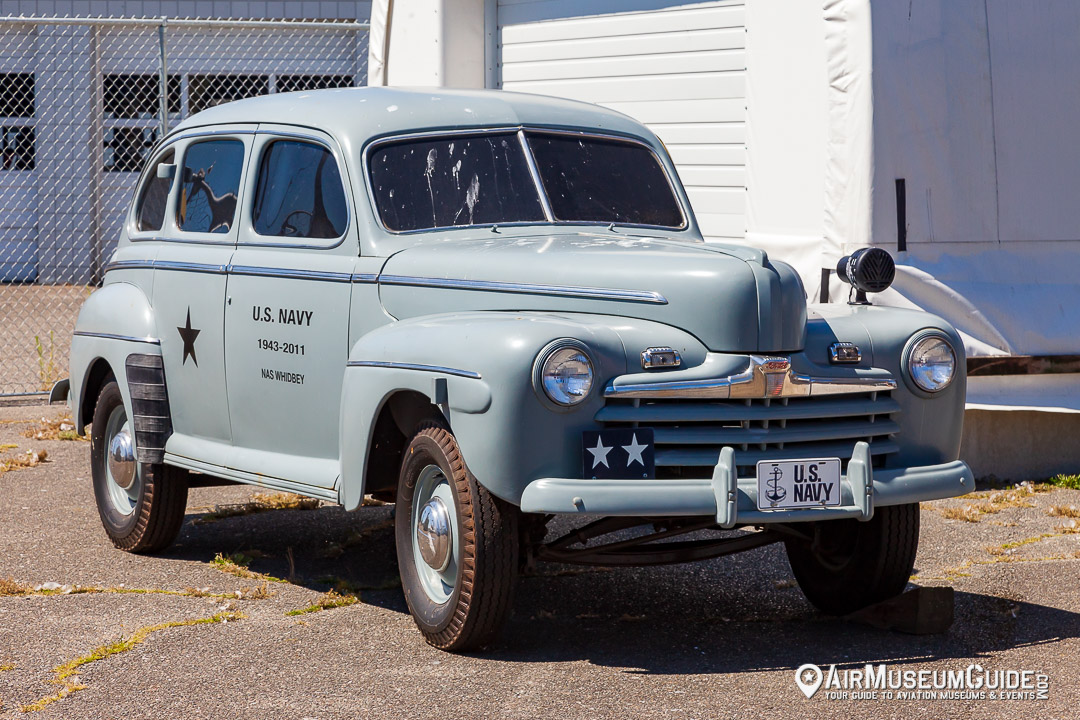 1946 Ford restored as a Navy staff car