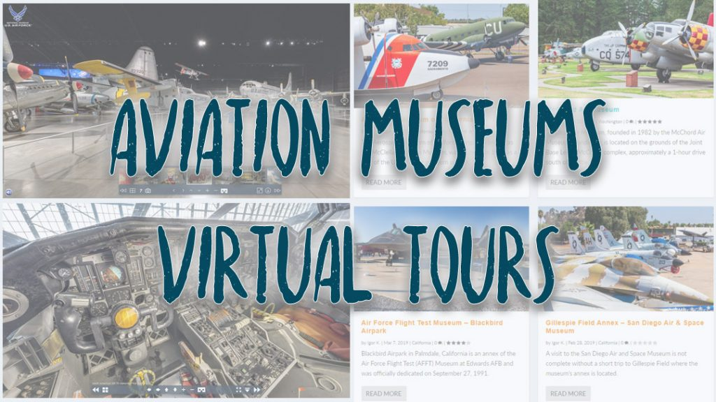 Aviation Museums Virtual Tours