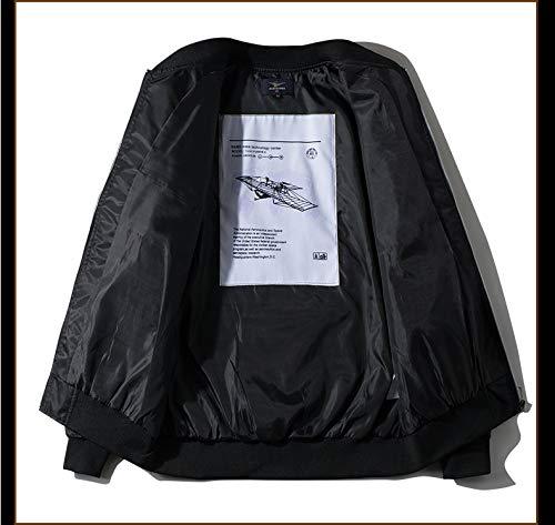 Wildswan Men Biker Bomber Jacket NASA MA-1 Military Flight Jacket Light Air Force Moto Street Coat Winter B4051